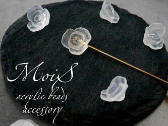 ピンブローチ - Roseの画像