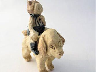 犬のり -子犬-の画像