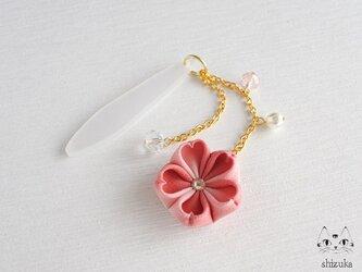 ひとひらの桜帯飾り ⋞ 夕桜 ⋟の画像