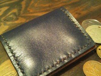 シンプルで使いやすい背面にポケット付きの小銭入れ☆NVの画像