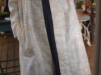 塩沢紬反物から正絹100コートの画像