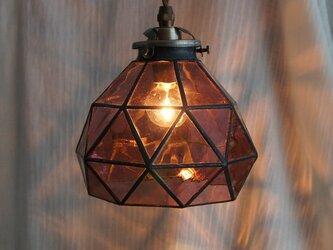 ロマンティックパープルのペンダントランプの画像