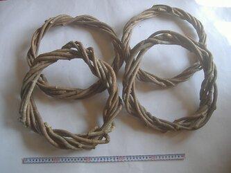 リース用の蔦(つた)Lサイズ4個組の画像