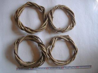 リース用の蔦(つた)Sサイズ4個組の画像
