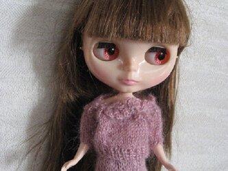 ドールニット・花モチーフセータースーツM2の画像