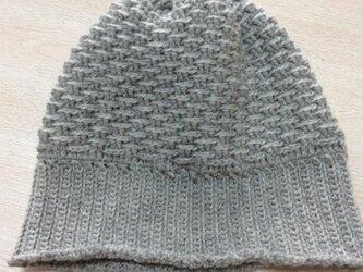 【受注製作】ニット帽 大人用の画像