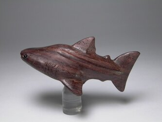 根付 本紫檀ジンベイザメ 2の画像