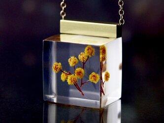 ミモザのネックレス 14kgf(ミモザ, レジン)の画像