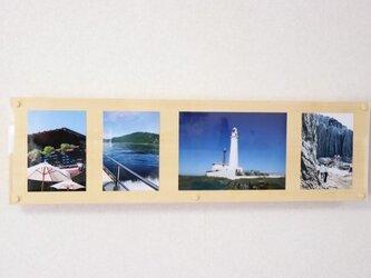 「ひば」 壁掛けフォトフレーム(写真収納部付き) /MA2[注文制作]の画像
