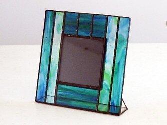 ステンドグラス フォトフレーム 2の画像