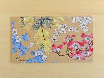 イラストボード 春のお花の画像