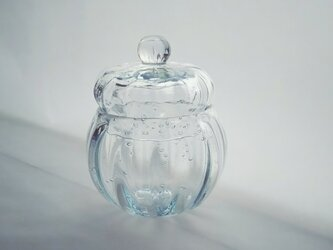 一点物★ブリキ色のガラスの小箱の画像