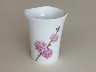 桃の花のカップ〜2の画像