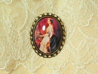ロココ調ブローチ  ●ヴィクトリアン/アンティーク風  ●王妃様/貴婦人の画像