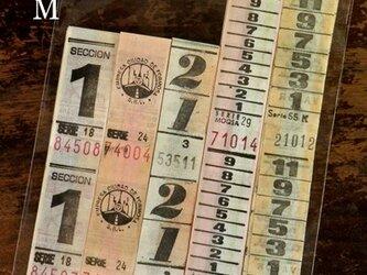 50枚【M】アルゼンチンVintageバスチケット DA-BTA069の画像
