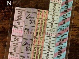 50枚【N】アルゼンチンVintageバスチケット DA-BTA070の画像