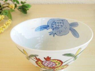 錦ざくろ 麺鉢の画像