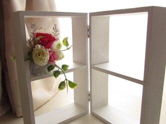 177:お部屋に♪プリザーブドフラワーの小物スタンド。の画像