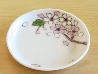 錦さくら 四寸深小皿の画像