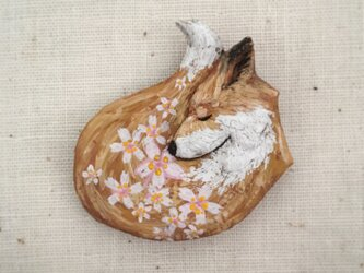 受注制作 ブローチ  春の匂い 「桜」の画像