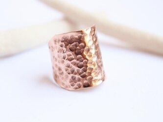 ゴツンと幅広20㎜ Copper/Silver Ringの画像
