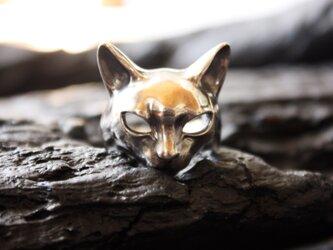 猫マスクリングの画像