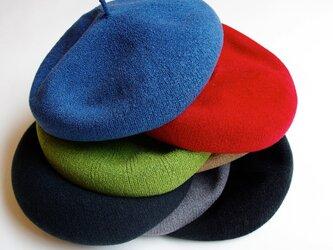 ベーシックベレー帽 <全7色>の画像