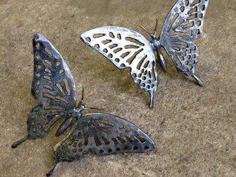 h様オーダー品 アゲハチョウの飾り2個セットの画像