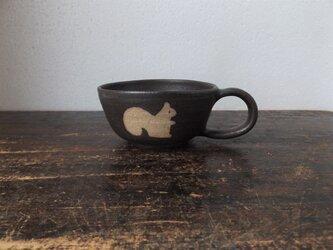どうぶつのスープカップ(りす)の画像