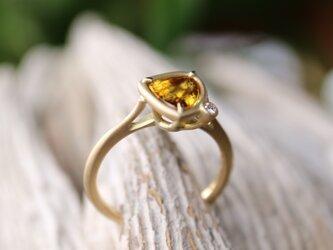 スフェーン指輪の画像