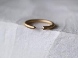 メレダイヤモンド指輪の画像