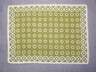 再販  (夏糸) 菜の花畑のブランケットの画像