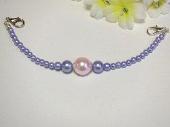 女性羽織紐◆エレガントパープル 艶めくピンクの画像