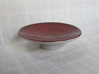 柘榴色のプチ皿の画像