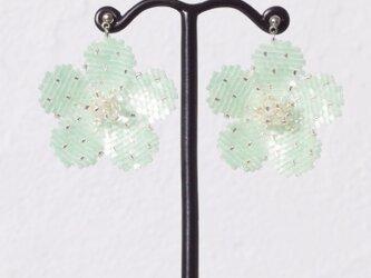 Bijoux Flower Earring ( ice green )の画像