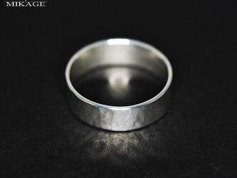 The Simplest Ring:銀925シンプルなリング(御影宝飾工房)の画像