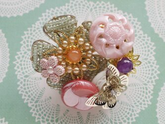 ブローチ 花の祭典 o-2601の画像