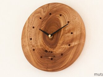 クルミの壁掛け時計 13の画像