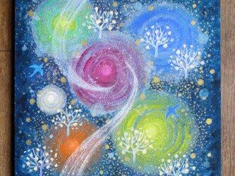 絵画「銀河のエナジー」の画像
