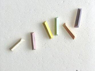 【iichi掲載作品】陶bou : ピアス/イヤリング 6colorの画像