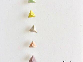 陶sankaku : ピアス/イヤリング 5colorの画像