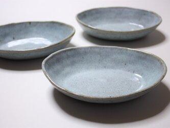 松灰釉舟形鉢の画像
