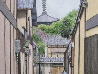 京都•塔の見える風景の画像