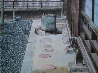 京都の茶庭の風景の画像