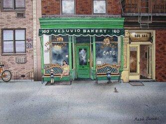 ニューヨーク•SOHOのベーカリーの画像