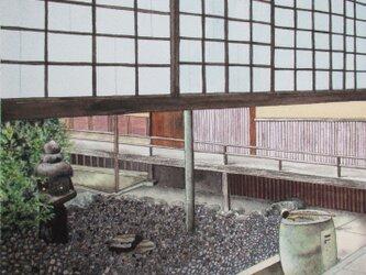 京都•禅庭の風景の画像