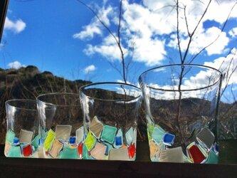 モザイクグラスの画像