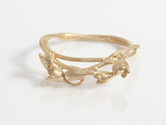 すずらんリング(gold)の画像