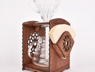 コーヒーブリューワー アラビック(木製ドリップスタンド)の画像