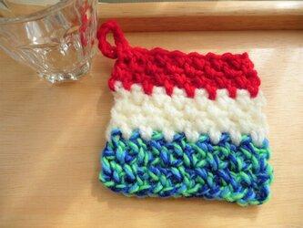 かぎ針編みのコースター (1)の画像